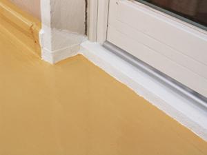 Favorit Balkonbeschichtung selber machen, abdichten, wasserdicht versiegeln. IZ17