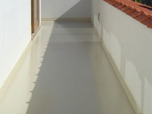 Beliebt Balkonbeschichtung selber machen, abdichten, wasserdicht versiegeln. NV85